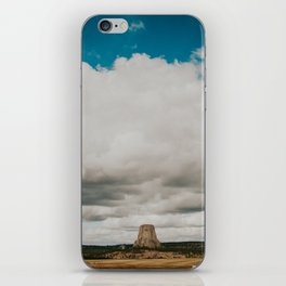 The Devils Tower iPhone Skin