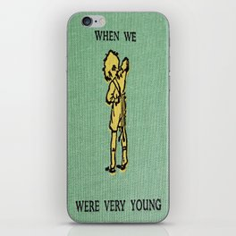 When We Were Very Young iPhone Skin