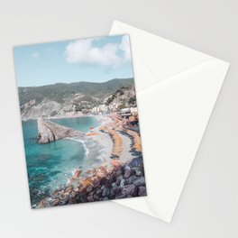 Cinque Terre Beach 2 Stationery Cards