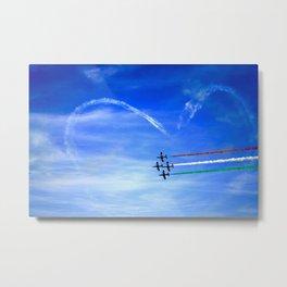 Cupid's Arrow - Frecce Tricolori Metal Print