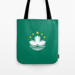 Flag of Macau Tote Bag