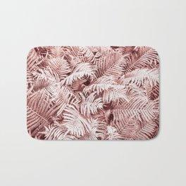 Fern Bush Blush Pink | Bedroom Art Bath Mat