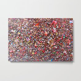 Bubblegum Alley V Metal Print