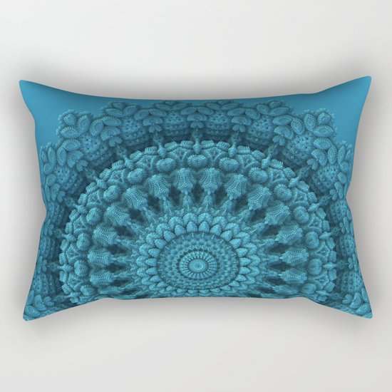 Mandala for the Masses Rectangular Pillow