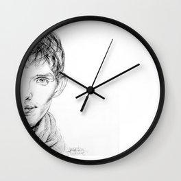 Colin Morgan (Merlin) Wall Clock