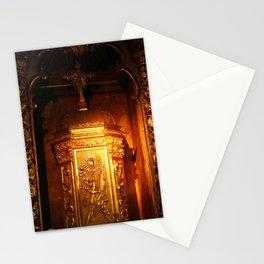 Catholic tabernacle Stationery Cards