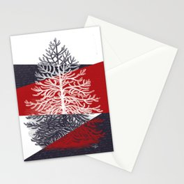Tree Silhouette II Stationery Cards