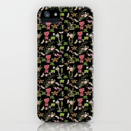 Orchid Collage iPhone Case