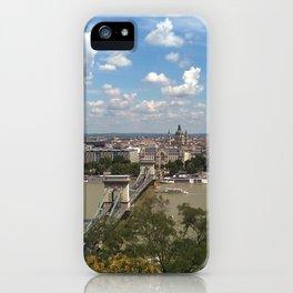 Budapest /Danube River/ Summer/ sunshine iPhone Case