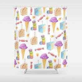 Birthday Girl Shower Curtain