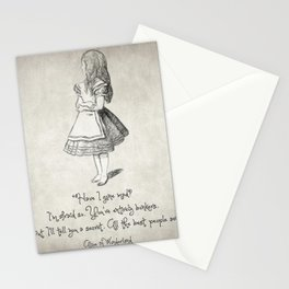 Have I Gone Mad Quote Stationery Cards