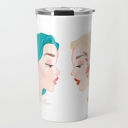 Two Halseys Travel Mug