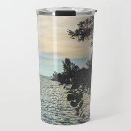 Summer Beach Breeze Travel Mug