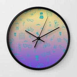 So Brooklyn 80's edition Wall Clock