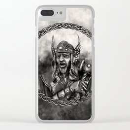 Thor - Norse God of thunder Clear iPhone Case