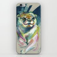 otter iPhone & iPod Skins featuring Otter by Nuance