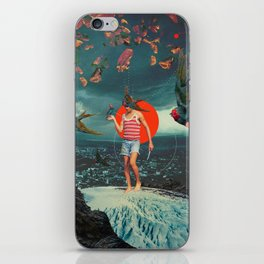 The Boy and the Birds iPhone Skin