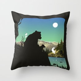 Out For Adventure Throw Pillow