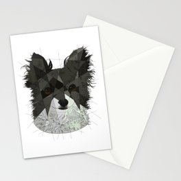 Long Haired Chihuahua Stationery Cards