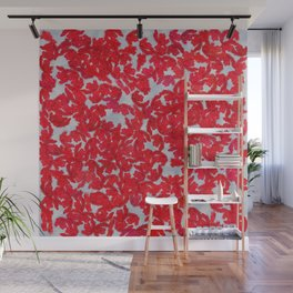 Kisses and Cotton Wall Mural