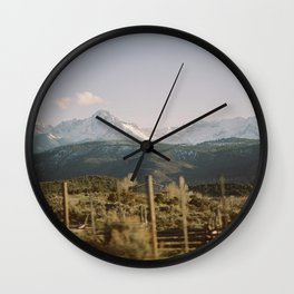 Road to Telluride Wall Clock