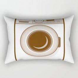 Retro Washing Machine Rectangular Pillow
