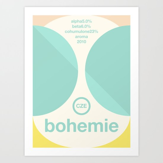 bohemie single hop Art Print
