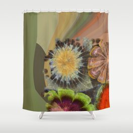 Uniteable Formation Flower  ID:16165-084538-89880 Shower Curtain