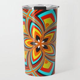 Spiral Rose Pattern C 2/4 Travel Mug