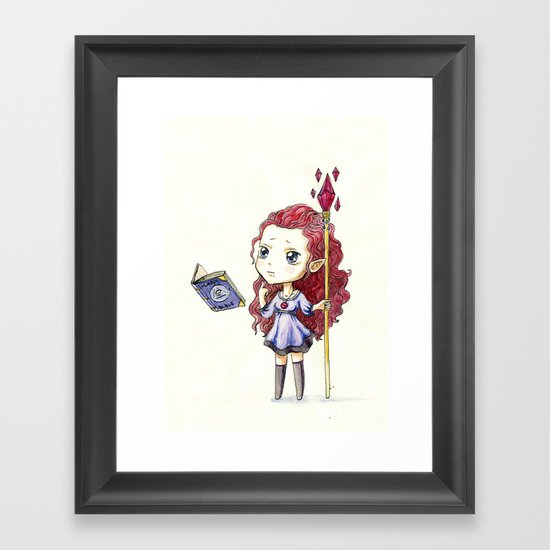 Magic Muffin Framed Art Print