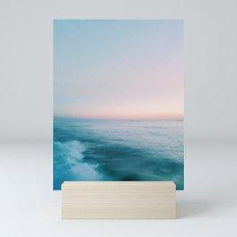 Calm Pastel Sea Mini Art Print