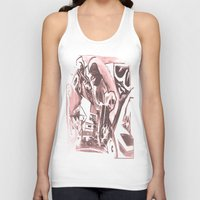 madonna Tank Tops featuring La Madonna by Davide Spinelli