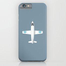 X-1 Mach Buster Rocket Aircraft - Slate iPhone Case
