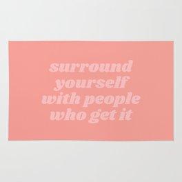 surround yourself Rug