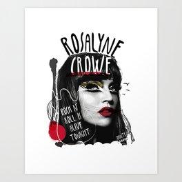 Rosalyne Crowe Art Print