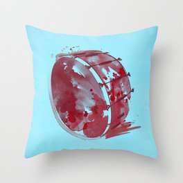 Symphony Series: Percussion Throw Pillow
