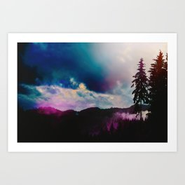 Kaleidoscope Wilderness Art Print