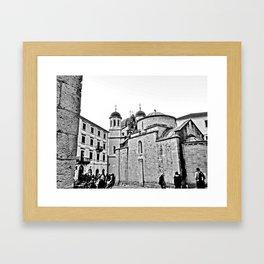 Kotor Square Framed Art Print