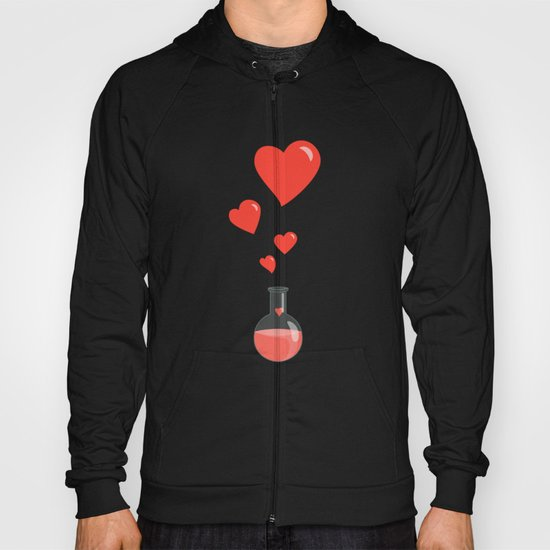 Love Chemistry Flask of Hearts Hoody