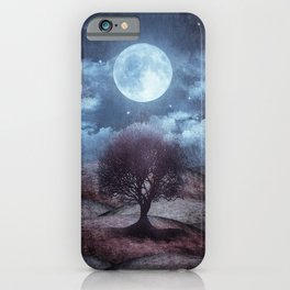 Once upon a time... The lone tree. iPhone Case