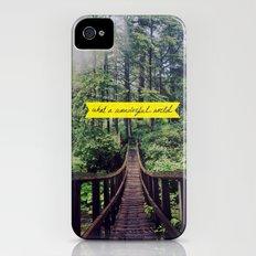 What a Wonderful World iPhone (4, 4s) Slim Case