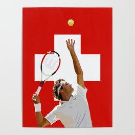 Roger Federer   Tennis Poster