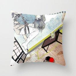 shibari_4 Throw Pillow