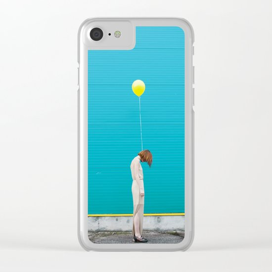 Balloon girl Clear iPhone Case