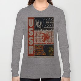 Vintage poster - USSR Long Sleeve T-shirt