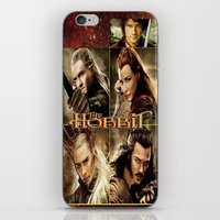 the hobbit iPhone & iPod Skins featuring Hobbit by custompro