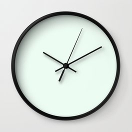 White Ice Wall Clock