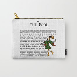 The Fool - A Tarot Design Carry-All Pouch