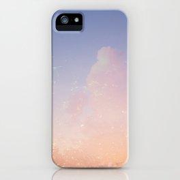 Summer sky iPhone Case
