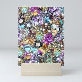 Vintage Bling Mini Art Print